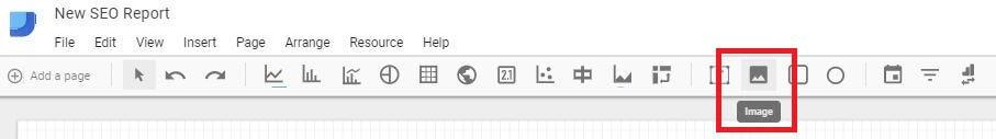 Google Data Studio - Add Image