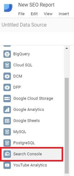 Google Data Studio - Change Connector