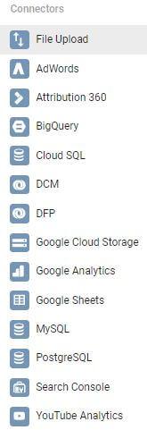 Google Data Studio Connectors Overview