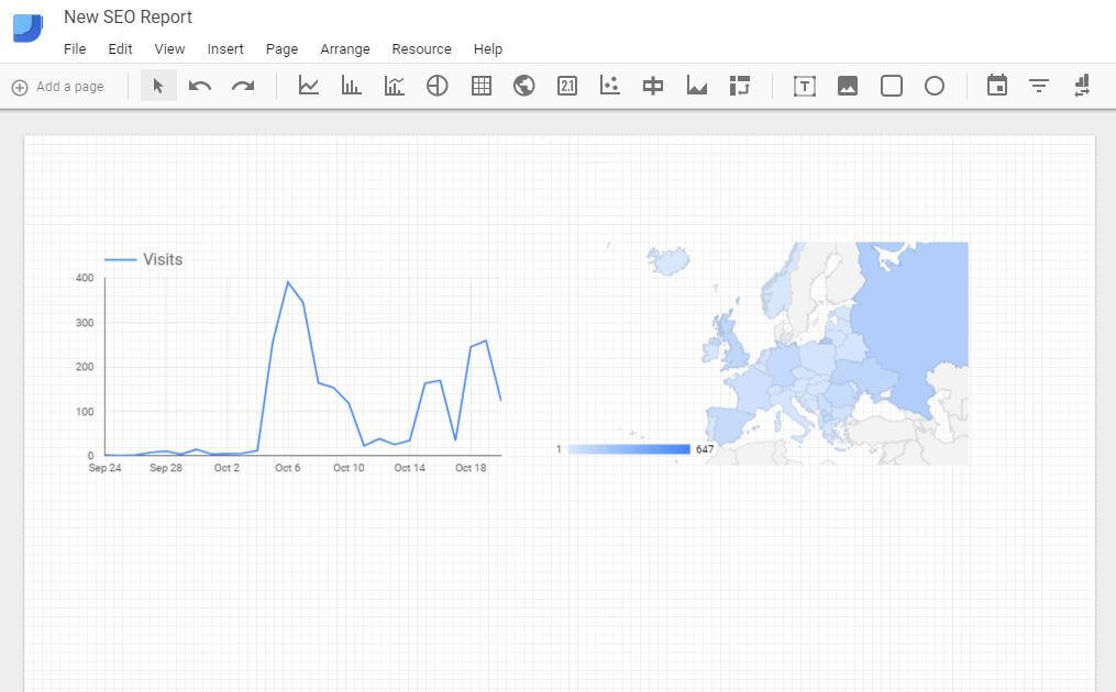 Google Data Studio - Edit Mode