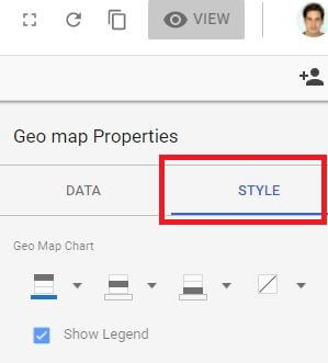 Google Data Studio Styling