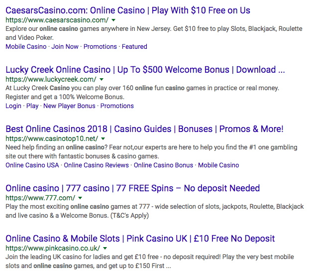 Sports Betting SEO