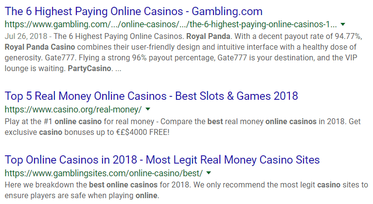 Casino Seo How To Rank 1st In The Online Gambling Industry
